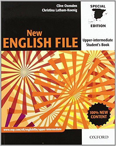 9780194519410: New English File Upper-Intermediate (Student Book & Workbook with key + Multi-ROM pack) (New English File Second Edition)