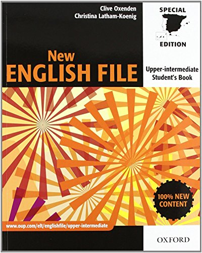 9780194519427: New English File Upper-Intermediate. Student's Book and Workbook without Key PAC (New English File Second Edition)