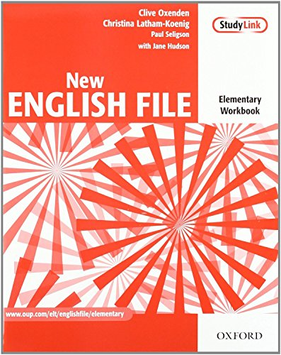 9780194519434: New English File Elementary. Student's Book and Workbook with Key Multi-ROM Pack (New English File Second Edition)