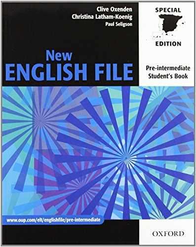 9780194519465: New english file Pre-Intermediate Pack without Key