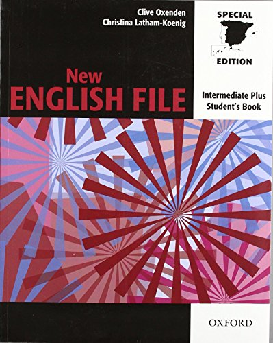 9780194519588: New English File Intermediate Plus. Student's Book (New English File Second Edition)