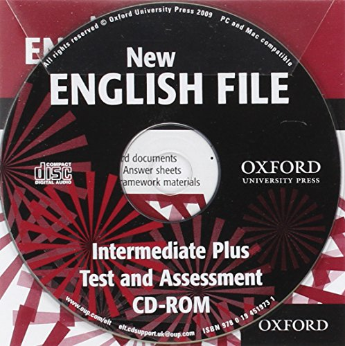 9780194519731: New English File Intermediate Plus: Test&ases CDrm (New English File Second Edition)