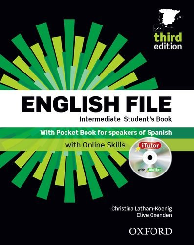 9780194519793: ENGLISH FILE INTERMEDIATE 3ª ED STUDENT?S BOOK