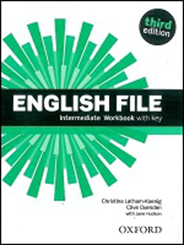 9780194519847: English File: Intermediate: Workbook with Key (English File third edition)