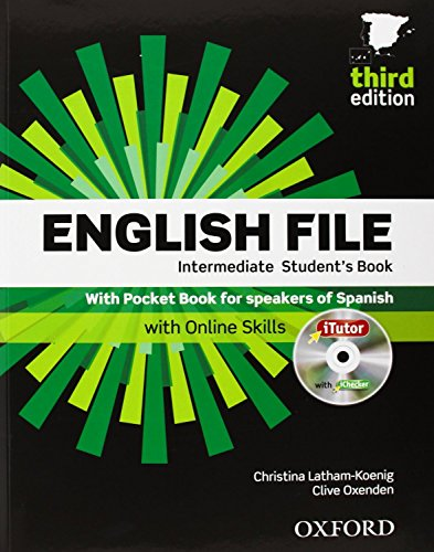 9780194519915: English File. Intermediate Student's Book + Workbook + Entry Checker (con clave) (English File Third Edition) - 9780194519915