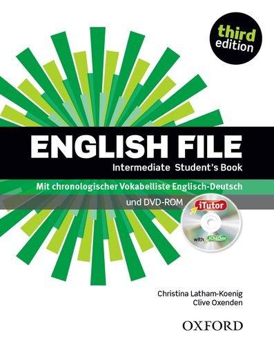 9780194519960: English File 3e Intermediate Student Boo