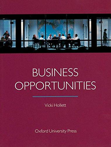 9780194520287: Business Opportunities: Student's Book