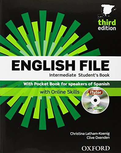 9780194520379: English File Intermediate: Student's Book, ITutor and Pocket Book Pack 3rd Edition