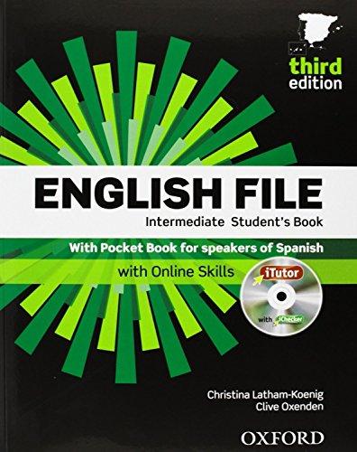 9780194520379: English File Int Sb+Itutor+Pb Pack 3Ed
