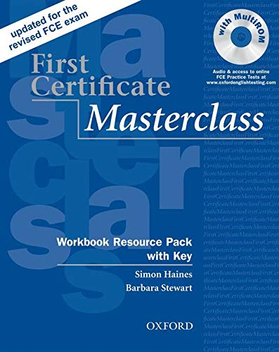 9780194522045: First Certificate Masterclass: Workbook Resource Pack with Key