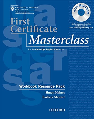 9780194522052: First Certificate Masterclass Workbook with out Answer key