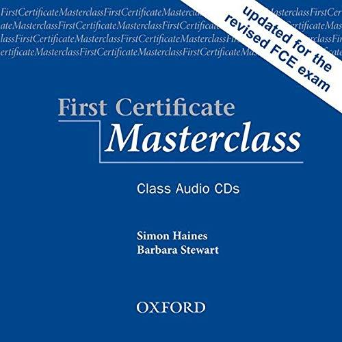 9780194522069: First Certificate Masterclass: Class CD Edition 08 (2): Class Audio CDs
