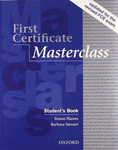 9780194522090: First certificate masterclass. Student's book-Workbook. With key. Per le Scuole superiori. Con Multi-ROM