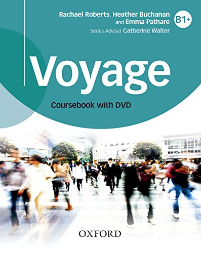 9780194522625: Voyage B1+. Student's Book + Workbook Pack with Key