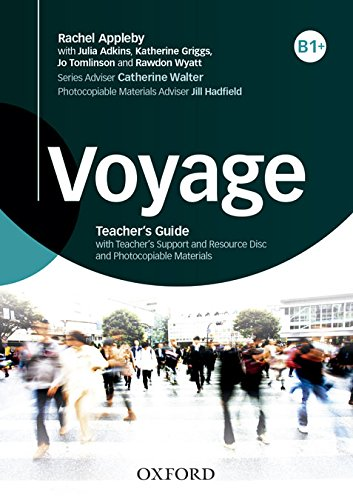 9780194522687: Pack Voyage. Level B1. Teacher's Book (+ Teacher's Resource)