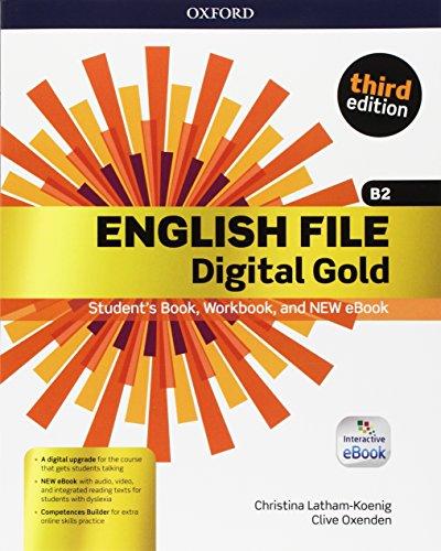 9780194524735: English file gold. B2 premium. Student's book-Workbook. Per le Scuole superiori. Con e-book. Con espansione online [Lingua inglese]
