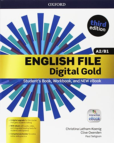 9780194524889: English file gold.A2-B1.Premium.Student's book wb with key with ebk with oosp [Lingua inglese]
