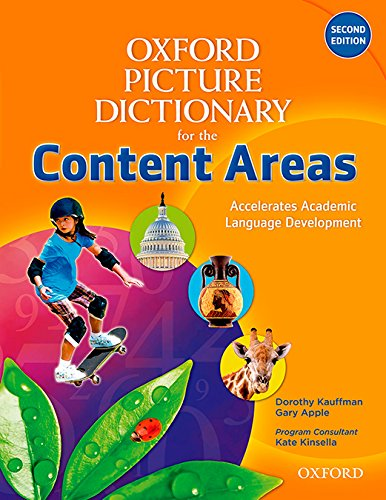 9780194525008: Oxford Picture Dictionary for the Content Areas English Dictionary (Oxford Picture Dictionary for the Content Areas 2e)