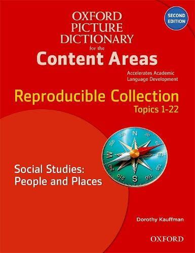 9780194525084: Oxford Picture Dictionary for the Content Areas: Reproducible Social Studies: People and Places