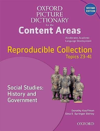 9780194525091: Oxford Picture Dictionary for the Content Areas Reproducible: Social Studies History & Government