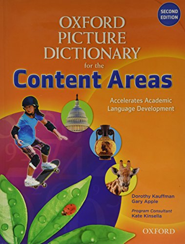 9780194525237: Oxford Picture Dictionary for the Content Areas Teacher Pack without iPack