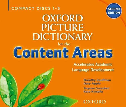 9780194525565: Oxford Picture Dictionary for the Content Areas Class Audio CDS (6) (Oxford Picture Dictionary for the Content Areas 2e)