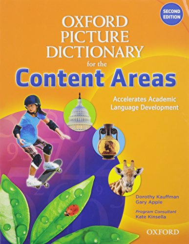 9780194525572: Oxford Picture Dictionary for the Content Areas English Dictionary Student Pack