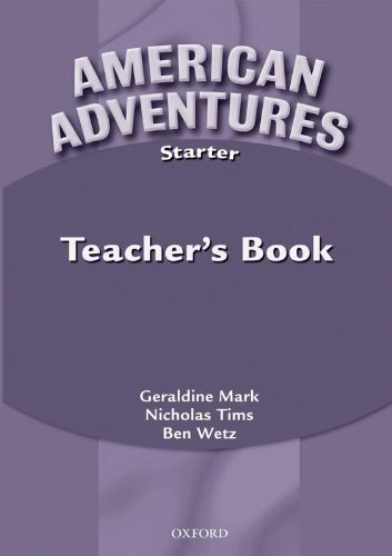 9780194527026: American Adventures Starter: Teacher's Book