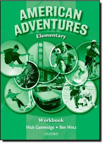 9780194527071: American Adventures Elementary: Workbook