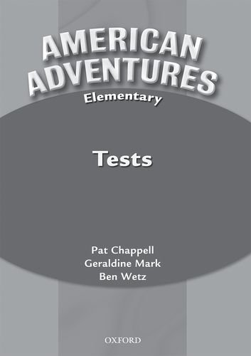 9780194527095: American Adventures Elementary: Tests