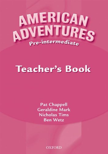 9780194527149: American Adventures Pre-Intermediate: Teacher's Book