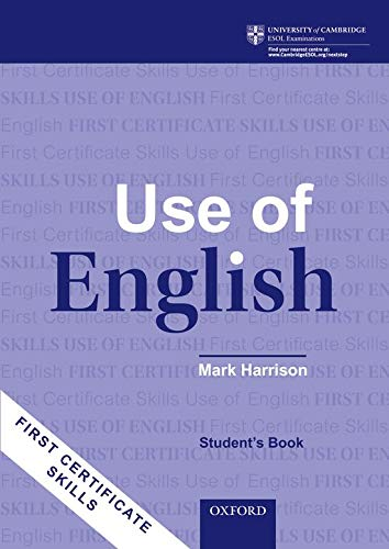 9780194528252: First Certificate Skills: Use of English, New Edition: Student's Book
