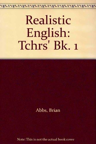 9780194531016: Realistic English: Tchrs' Bk. 1