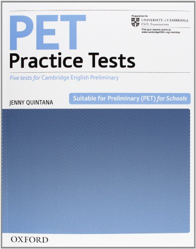 9780194534673: Pet practice tests. Without key. Con 2 CD Audio. Per le Scuole superiori