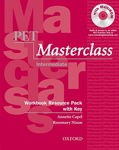 9780194535472: Pet Masterclass Workbook Resource Pack With Key (Preliminary English Test (Pet) Masterclass)