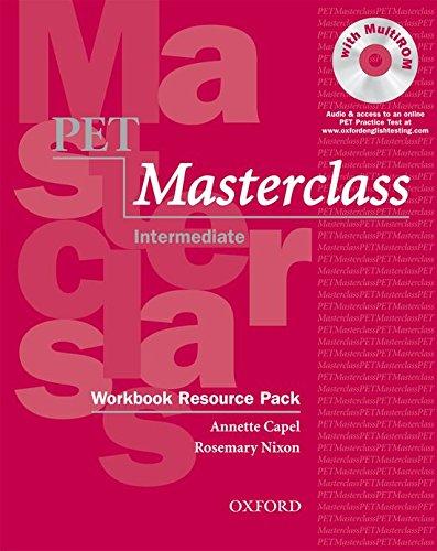 9780194535489: Pet masterclass. Workbook. Without key. Per le Scuole superiori. Con Multi-ROM