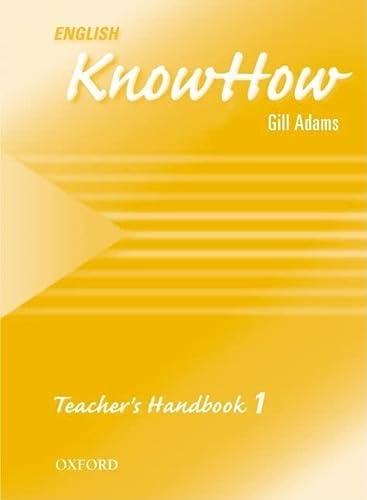 9780194536745: English KnowHow 1: Teacher's Book