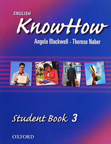 9780194536851: English KnowHow 3: Student Book