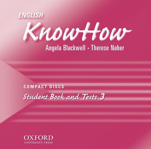 9780194536943: English KnowHow 3: CDs (Pt. 3)