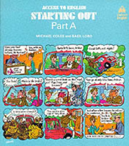 9780194537056: Access to English: 1: Starting Out: Student's Book, Part A