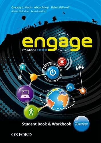 9780194537940: Engage: Starter: Student Book and Workbook with MultiROM
