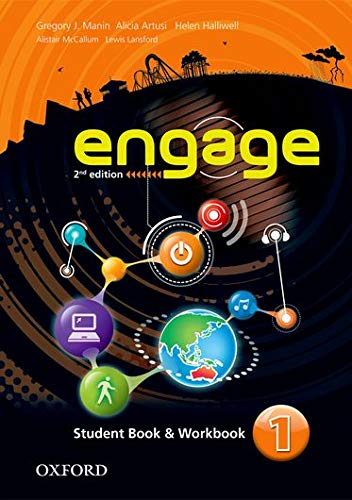 9780194537995: Engage: Level 1: Student Book and Workbook with MultiROM