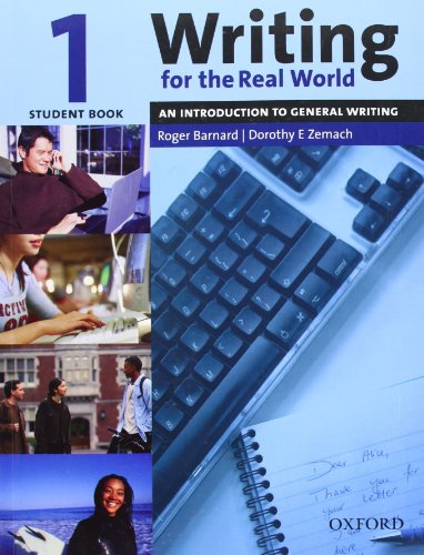 9780194538145: Writing for the Real World 1: An Introduction to General Writing Student Book