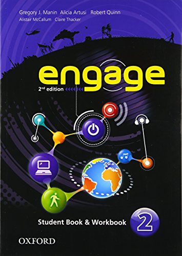 9780194538220: Engage: Level 2: Student Book and Workbook with MultiROM