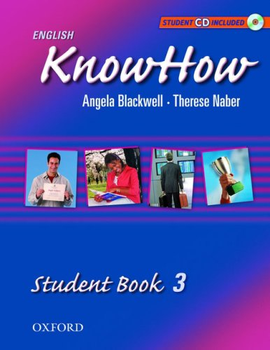 9780194538534: English KnowHow 3: Student Book with CD