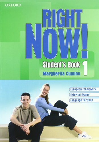 9780194545839: Right now! Language essentials. Student's book-Workbook-Portfolio. Per le Scuole superiori. Con CD Audio. Con CD-ROM.
