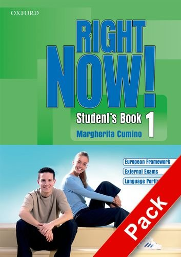 9780194545846: Right now! Language essentials. Student's book-Workbook-Portfolio. Con CD Audio. Per le Scuole superiori: 1