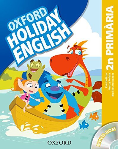 9780194546232: Holiday English 2� Primaria: Pack (catal�n) 3rd Edition (Holiday English Third Edition)