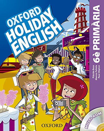 9780194546270: Holiday English 6º Primaria: Pack (catalán) 3rd Edition (Holiday English Third Edition)