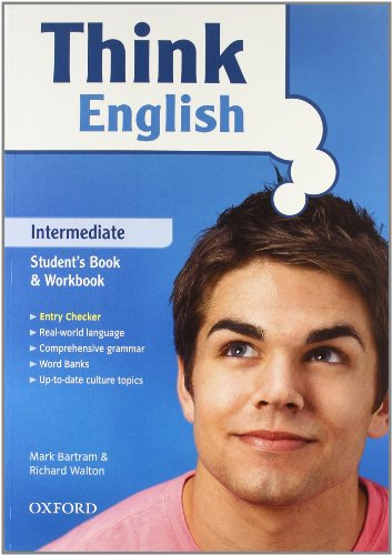 9780194548120: Think english. Intermediate. Student's book-Workbook-Culture book. Con espansione online. Con CD Audio. Per le Scuole superiori